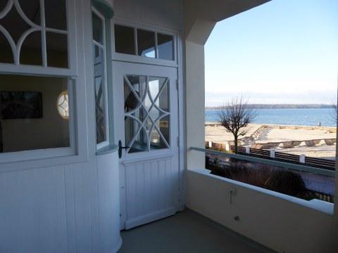 Blick vom Freya Frahm Haus